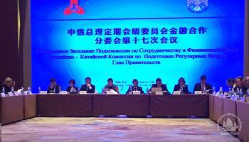 Руководство Подкомиссии по сотрудничеству в финансовой сфере Российско-Китайской комиссии по подготовке регулярных встреч глав правительств.